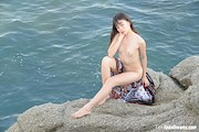 Sowan – On The Rocks Outdoors Naked – TeenDreams – [8]