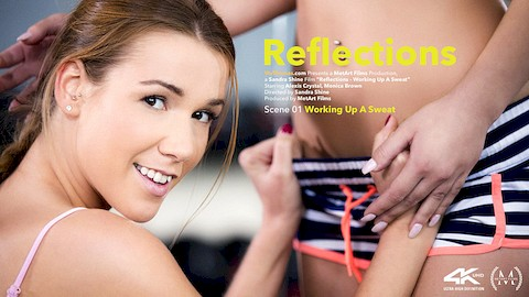 Alexis Crystal & Monica Brown – Reflections Episode 1 – Working Up A Sweat – VivThomas