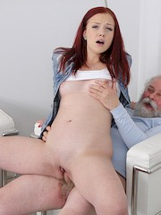 1PassForAllSites — Tiffani Love in Sexy babe obeys old photographer who tells her to undress