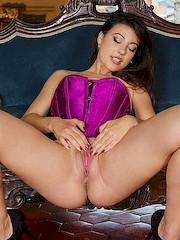 METArtX — Lorena B in Lust Full Corset 1